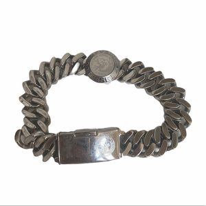 Diesel Only the Brave Stainless Steel Bracelet